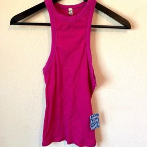 Free People Intimately Wide Eyed Tank Top Pink